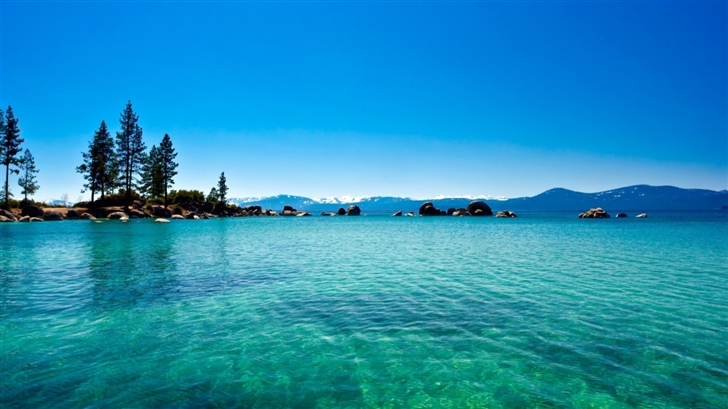 Lake Tahoe California Mac Wallpaper