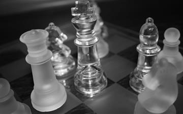 Chess King MacBook Air wallpaper