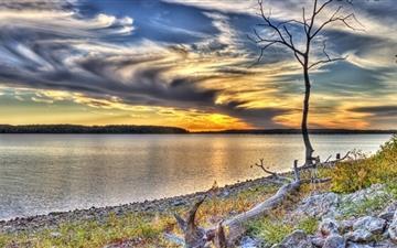 Clinton Lake Lawrence Kansas Mac wallpaper