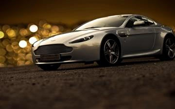 Aston Martin Bokeh Lights Mac wallpaper