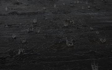 Cold Rain Drops Mac wallpaper