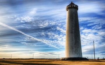 Iceland Lighthouse Mac wallpaper