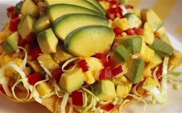 Tasty Vegetables Salad Mac wallpaper