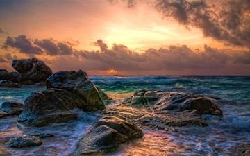 Aruba Sunrise Mac wallpaper