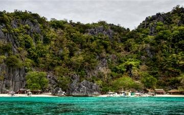 Beach Palawan Philippines Mac wallpaper