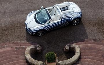 Bugatti Veyron Grand Sport Convertible Mac wallpaper