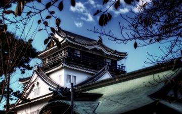 A View Of Okazaki Castle Mac wallpaper