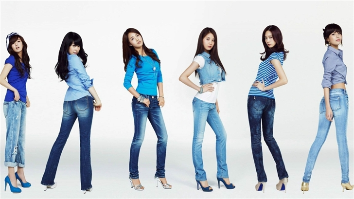 Girls Generation 11 Mac Wallpaper