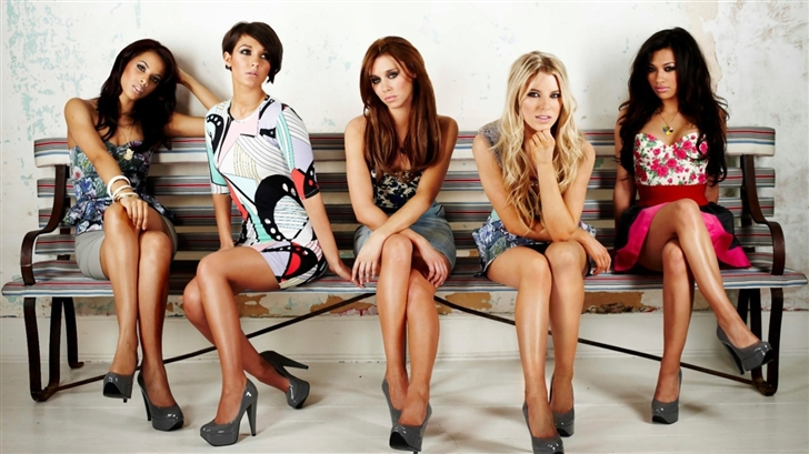 The Saturdays 8 Mac Wallpaper