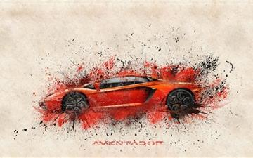 The Aventador Mac wallpaper