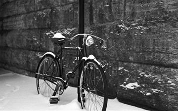 Bicycle Black And White Mac wallpaper