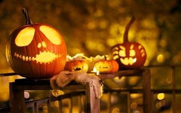 Halloween Decorations Mac wallpaper