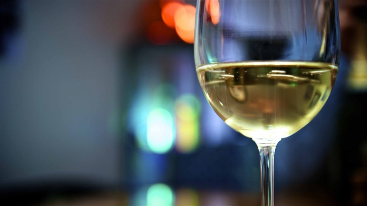 Having A Glass Of Wine Mac Wallpaper