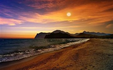 Crimea Beach MacBook Air wallpaper
