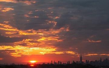 New York City Skyline Mac wallpaper