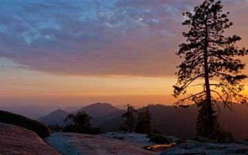 Beetle Rock Sequoia National Park Mac wallpaper