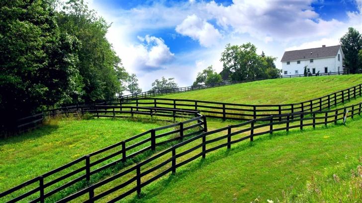 Farm Fencing  Mac Wallpaper