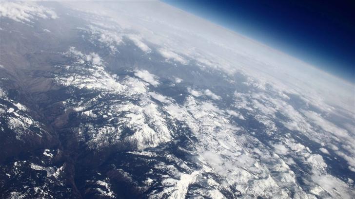 Over The Rocky Mountain Mac Wallpaper