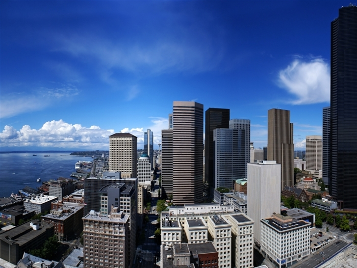 Seattle City United States Mac Wallpaper