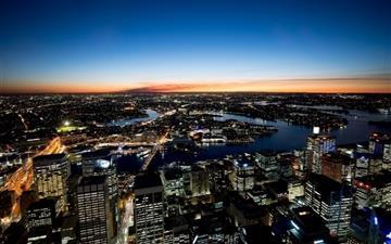 Sydney Night Lights Mac wallpaper
