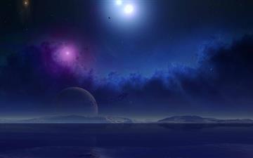 Science Fiction Scenery Mac wallpaper