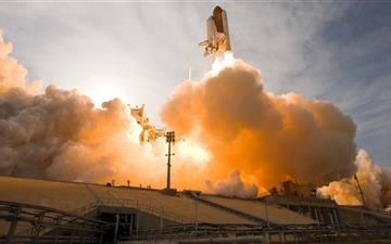 Space Shuttle Launch Mac wallpaper