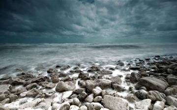 Stormy Sea Mac wallpaper