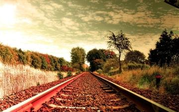 Railroad Mac wallpaper