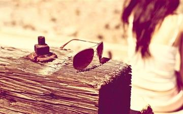 The Sunglasses All Mac wallpaper