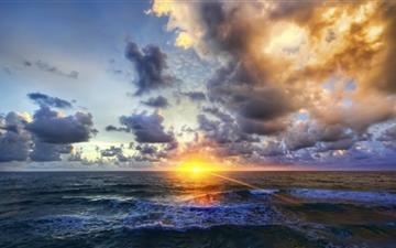 Sunrise In America Mac wallpaper