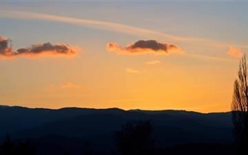 Sunset Sky Mac wallpaper