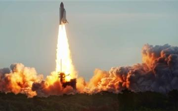 The Endeavor Launch Mac wallpaper