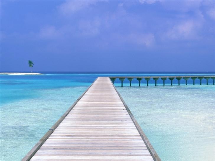 Beach Way Mac Wallpaper