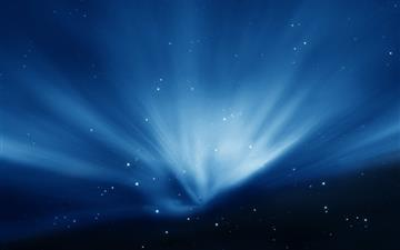 Apple Sky Blue Aurora All Mac wallpaper