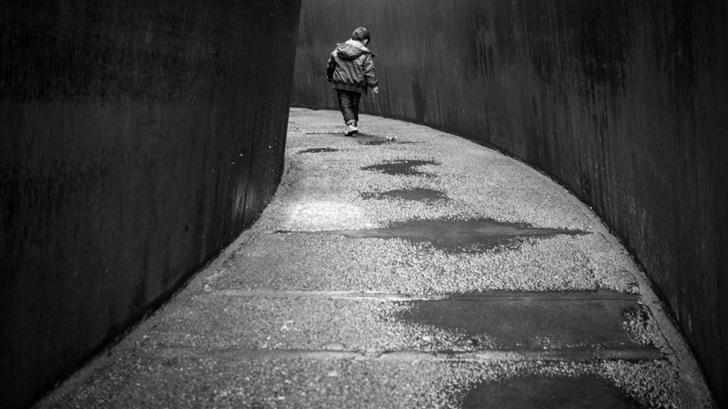 Walking Alone Mac Wallpaper