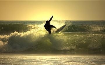 The Surfer Mac wallpaper