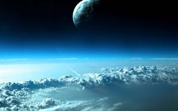 Beautiful Space View All Mac wallpaper