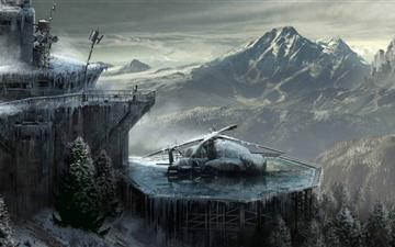 Rise Of The Tomb Raider Concept Art All Mac wallpaper