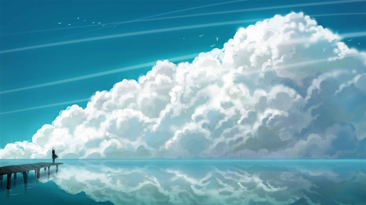 Sky Clouds Mac Wallpaper