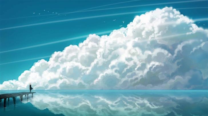 Sky Clouds Mac Wallpaper