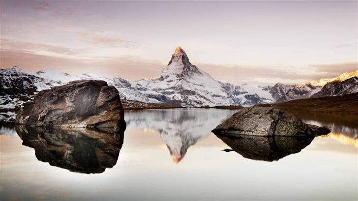 Matterhorn In Alps Mac Wallpaper