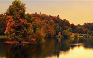Stourhead Wiltshire England Mac wallpaper