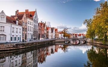 Brugge Belgium Mac wallpaper