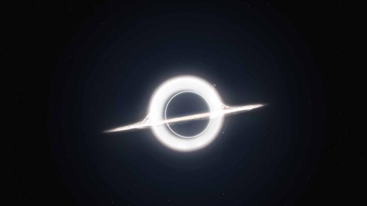 Interstellar Black Hole Mac Wallpaper
