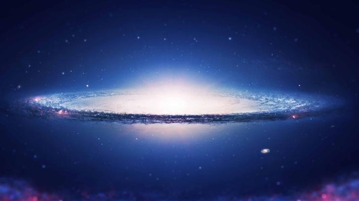 Spiral Galaxy Mac Wallpaper
