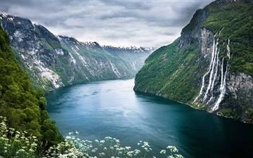 Norway Mountain Mac wallpaper
