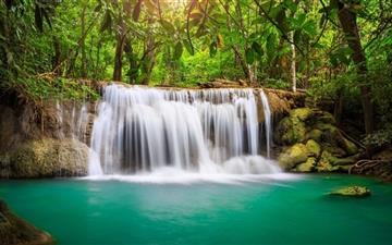 Rainforest Waterfall Mac wallpaper