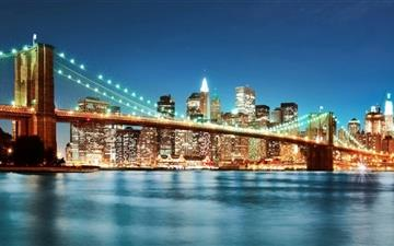 New York City Night Mac wallpaper