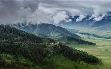 Altai Mountains Russia Mac wallpaper