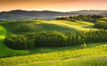 Beautiful Italian Landscape Mac wallpaper